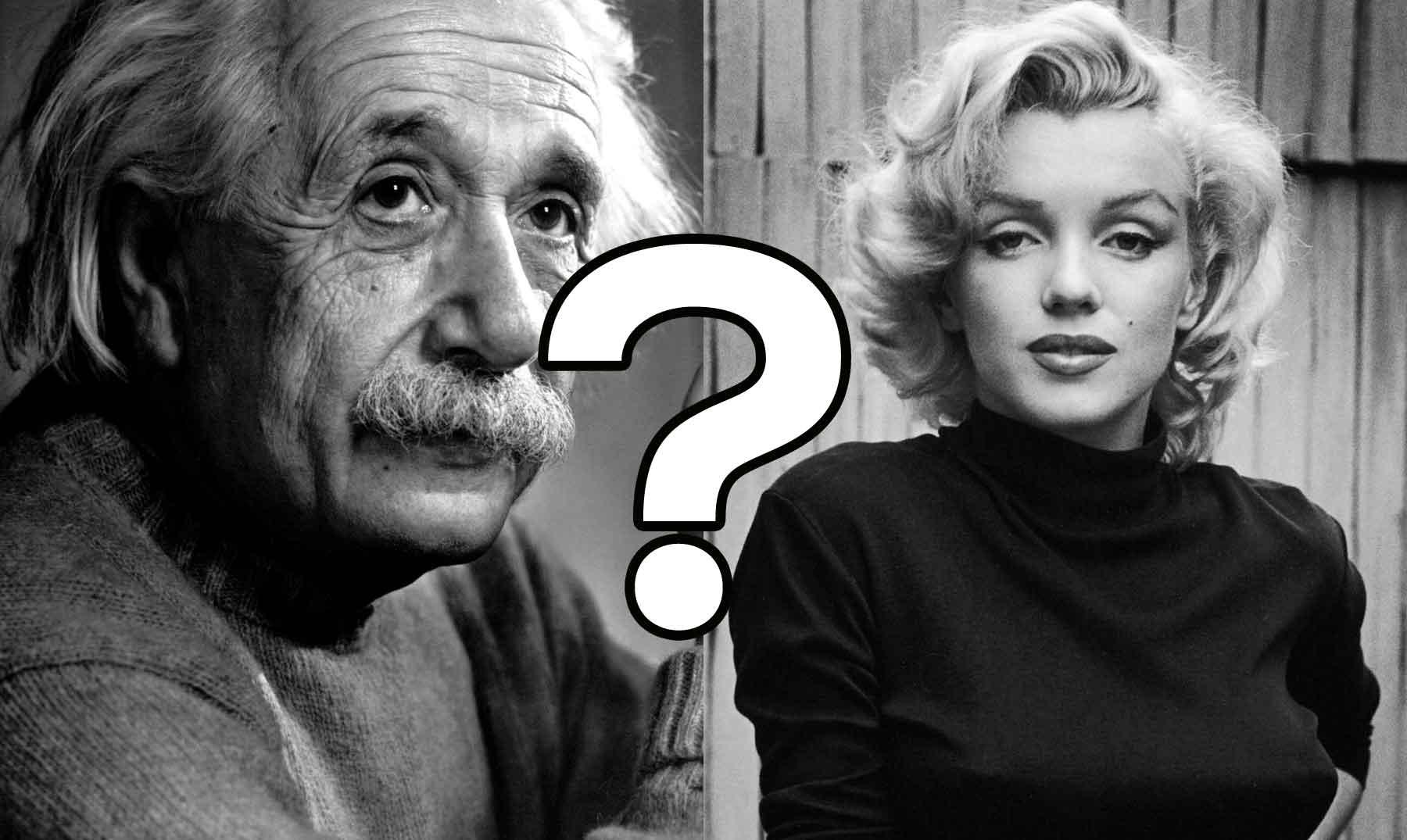 Qué le propuso Marilyn Monroe a Albert Einstein?