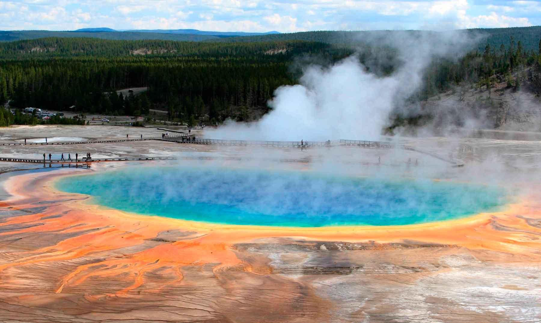 El volcán del parque de Yellowstone y el fin del mundo