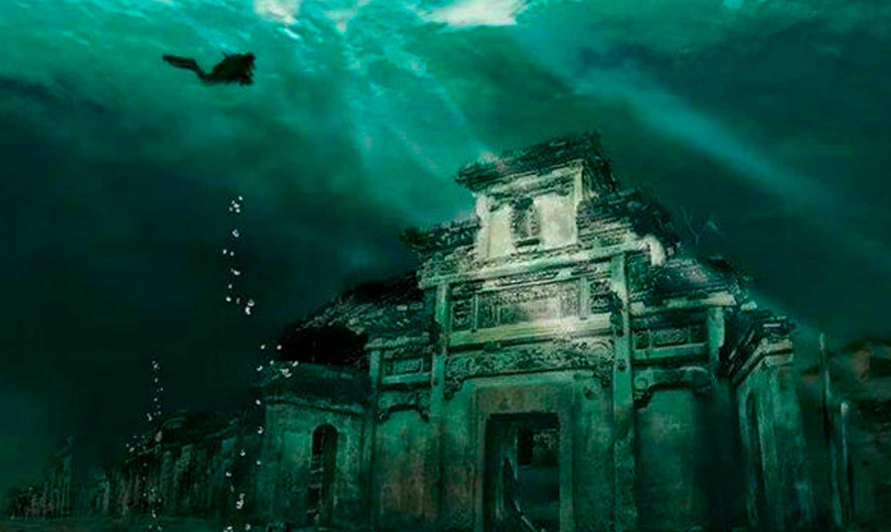 Shi Cheng, la increíble ciudad sumergida de China