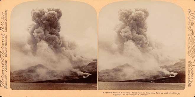 Volcán Peleé, La Martinica, erupción de 1902
