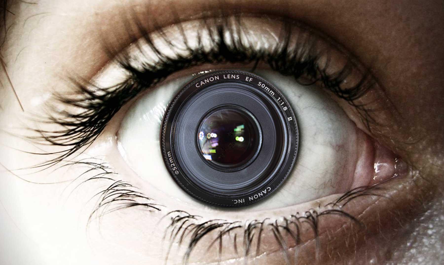 Una cámara en nuestro ojo
