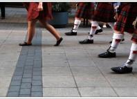 ¿Por qué los escoceses usan pollera?