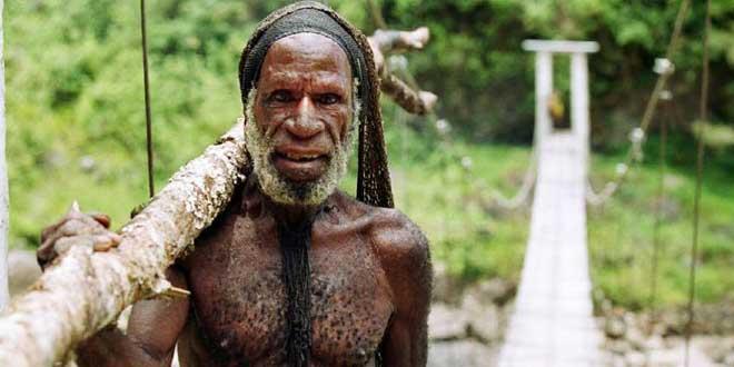 miembro tribu yali