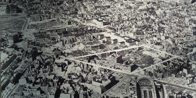 Bombardeos en Berlín durante 1944