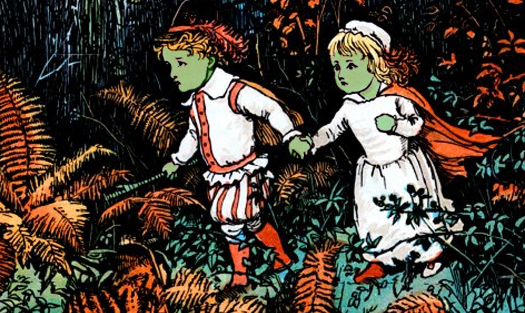 Los niños verdes