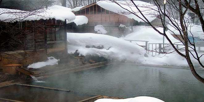 Baños Japoneses Onsen:Los Onsen son los baños termales en Japón Como es un país