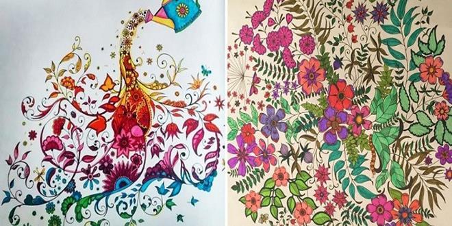 Libros para colorear: ¡Un éxito entre los adultos!