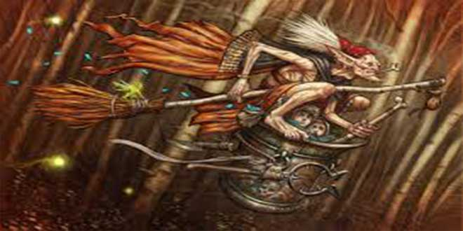 Baba Yagá, la bruja de los bosques rusos