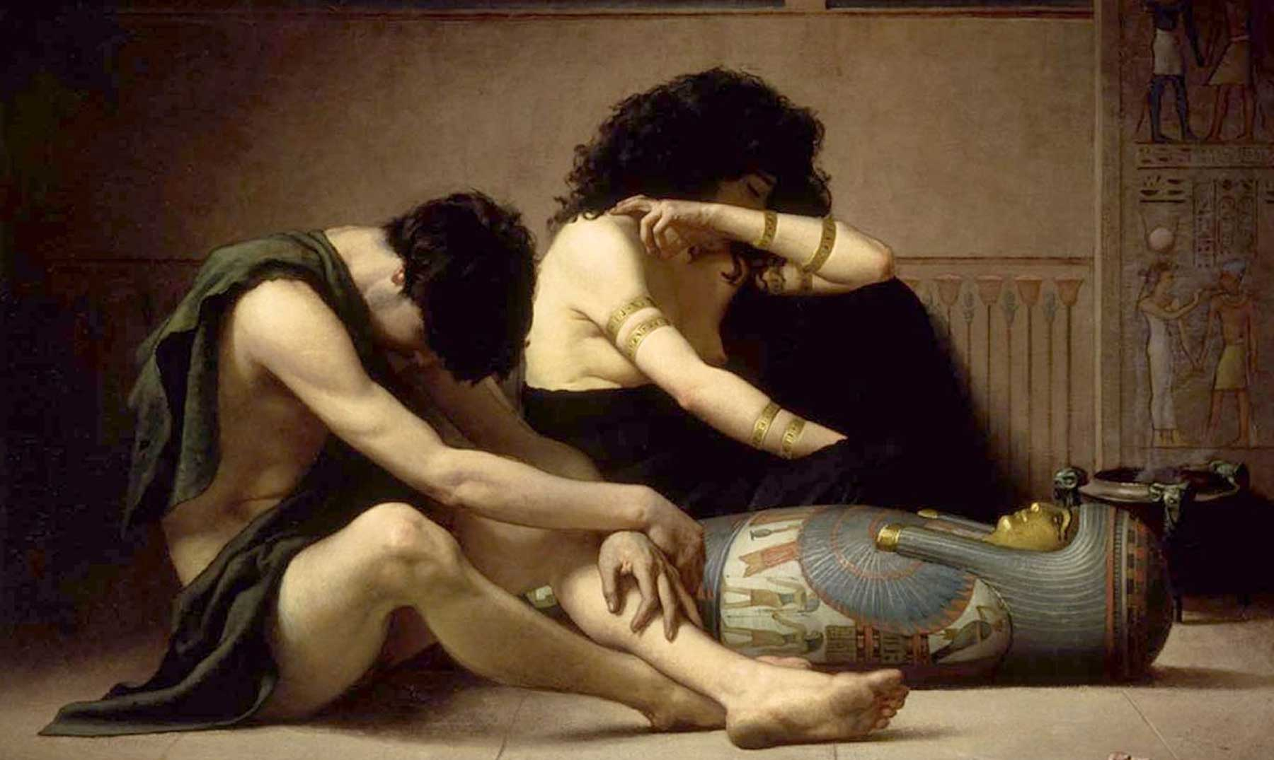Resultado de imagen de plaga egipcia primogénitos
