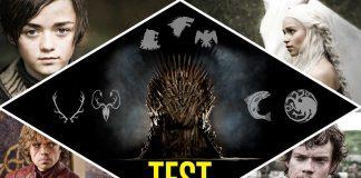 TEST Juego de Tronos: ¿A qué casa perteneces?