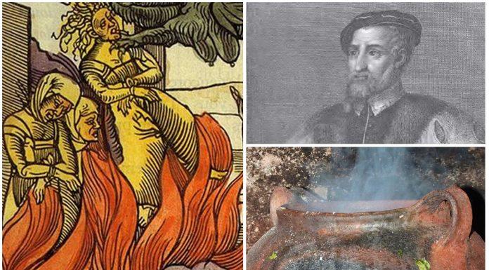 Andrés Laguna, el médico que intentó salvar a una bruja de la hoguera