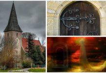 La puerta del Diablo de algunas iglesias medievales
