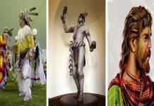 Los Duhare: nativos americanos pelirrojos y de ojos claros
