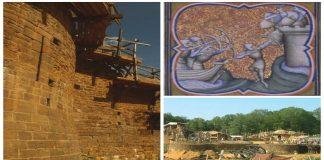 Castillo del siglo XIII reconstruido