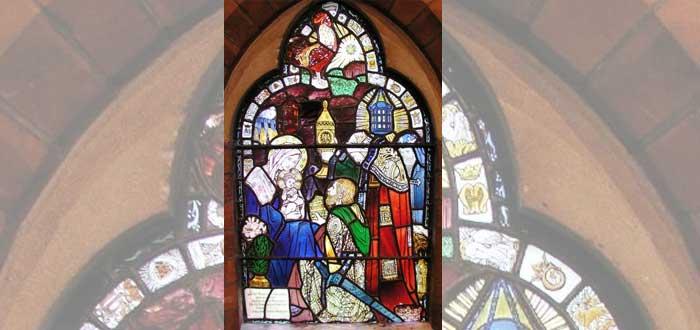 La misteriosa vidriera que oculta dónde está el Arca escondida por los templarios