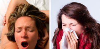 orgasmos y estornudos