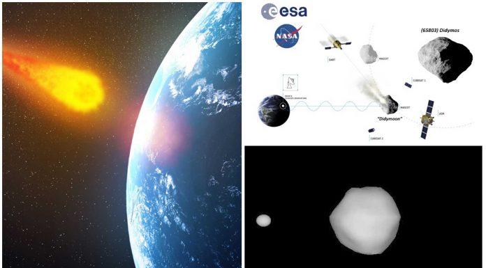 2 proyectos de la NASA para desviar un asteroide rumbo a la Tierra