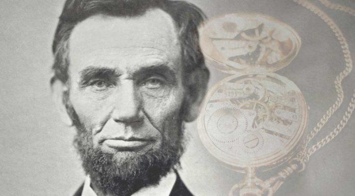 El mensaje secreto oculto en el reloj de bolsillo de Lincoln