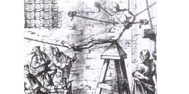 Cuna de Judas, torturas más crueles