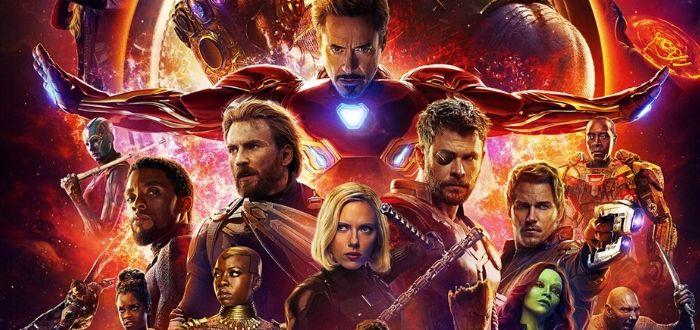 Las 20 Películas más taquilleras de la Historia. Avengers infinity war