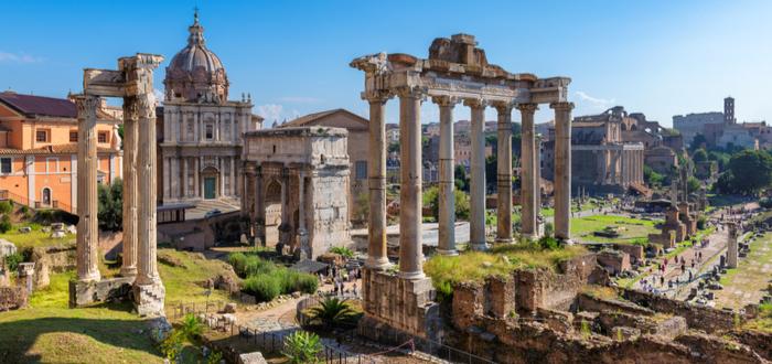 Todos los caminos llevan a Roma. Verdad o mentira.