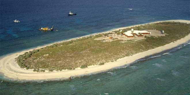 Islas del Mar de Coral