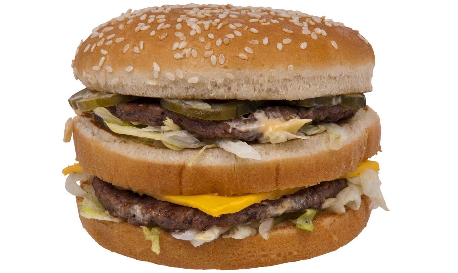 La hamburguesa indestructible de McDonald's