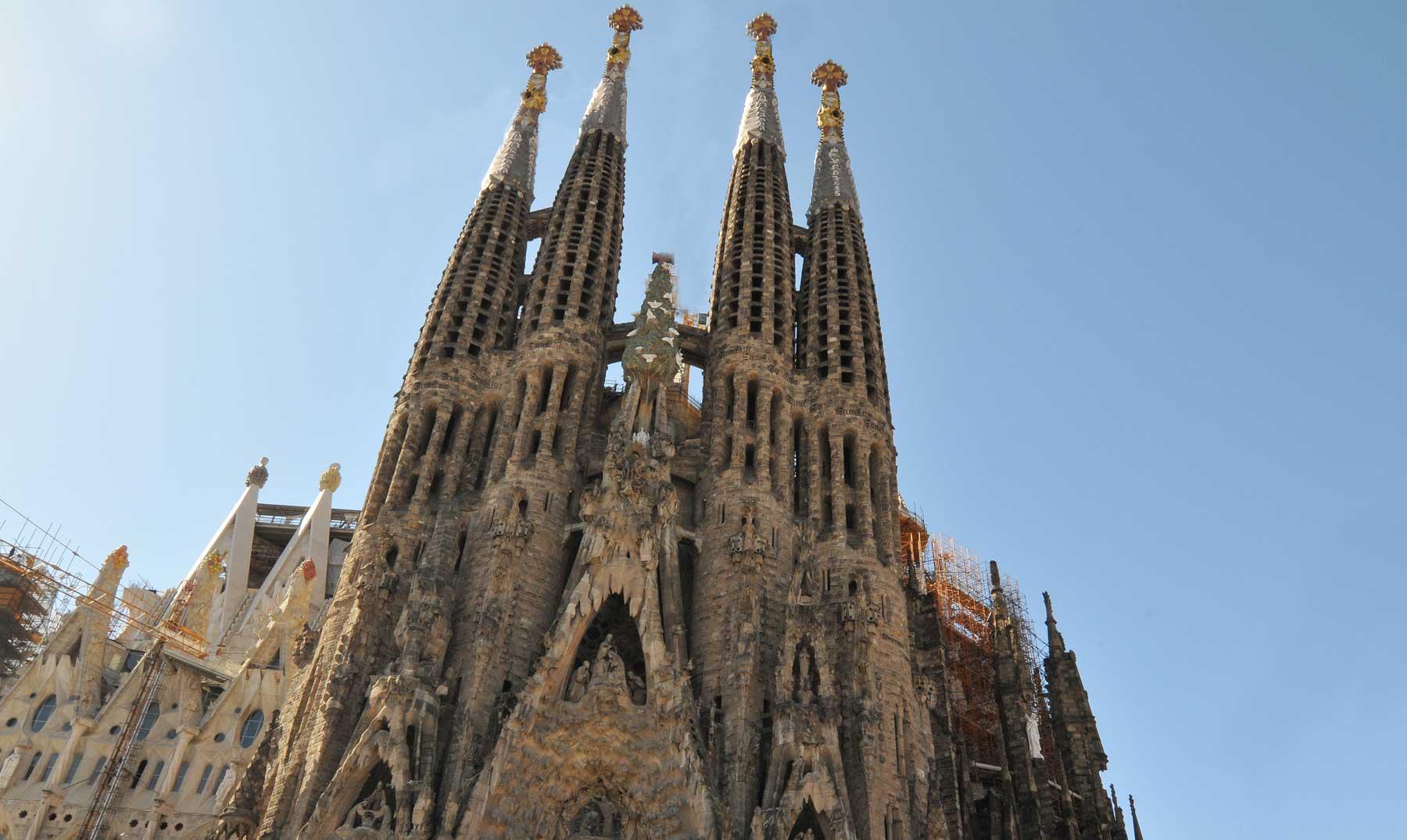 La Sagrada Familia de Barcelona terminada