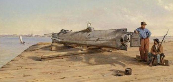 Submarino de Horace Hunley