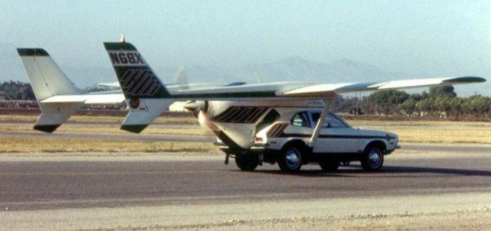 coche volador de Henry Smolinski