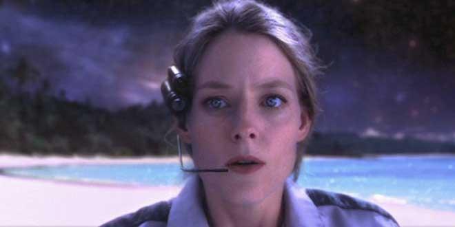 """Jodie Foster en """"Contact"""" (Robert Zemeckis. 1997)"""
