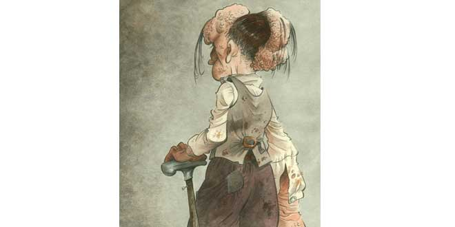 joseph merrick ilustracion