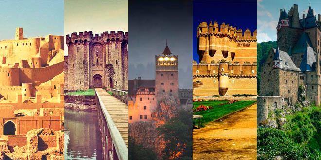 Los castillos mas bonitos