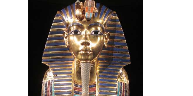 tutankamon máscara