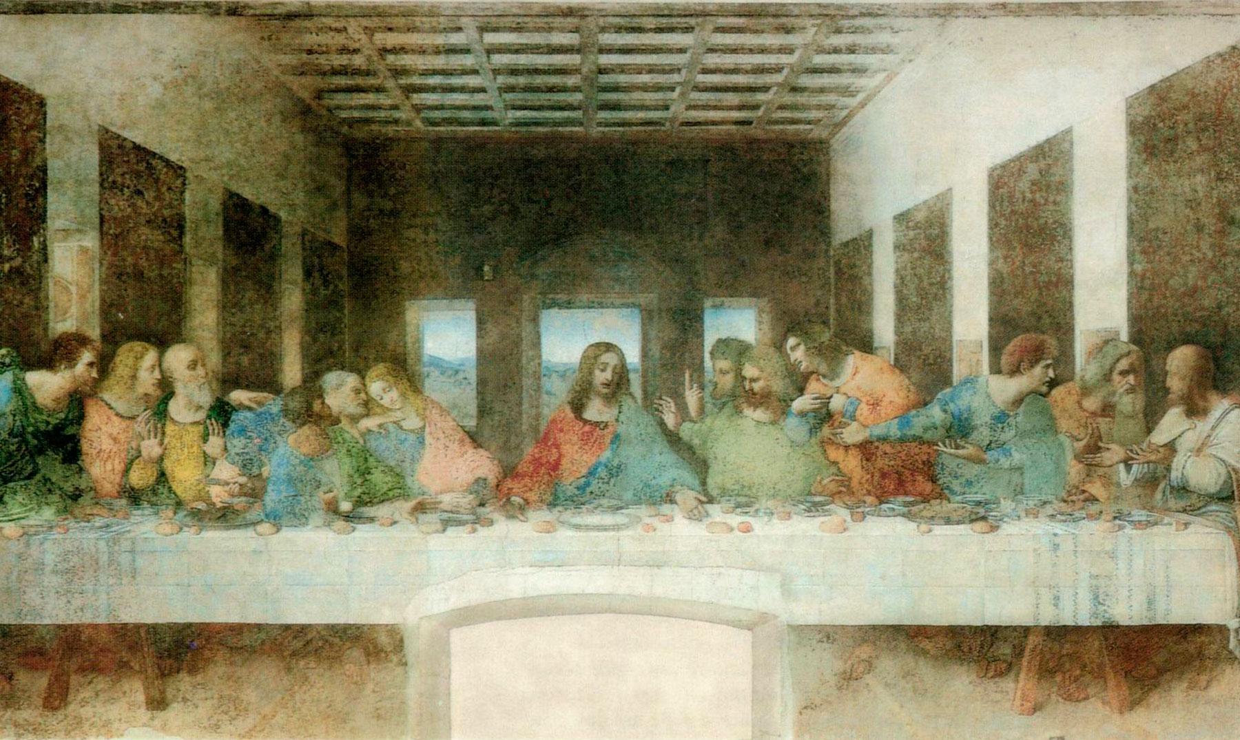 Curiosidades Sobre La ltima Cena De Leonardo Da Vinci