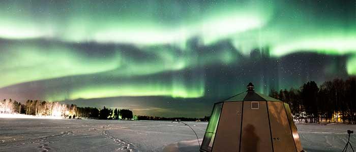 donde se pueden ver auroras borales