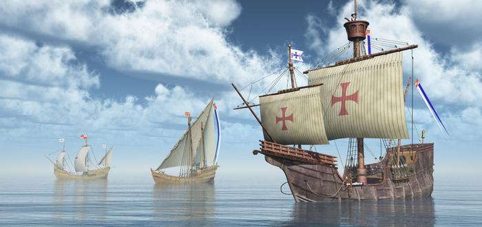 Quién llegó primero a América. Los vikingos o Cristóbal Colón.