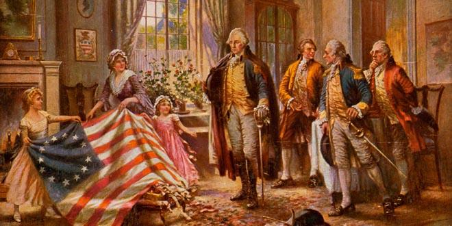 Betsy Ross Bandera estados unidos