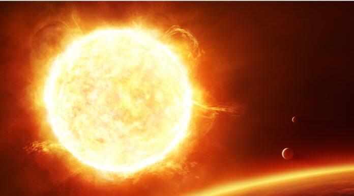 De qué color es el sol