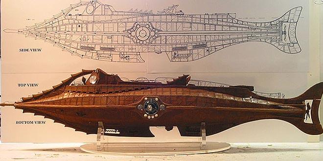 Curiosidades Nautilus Verne