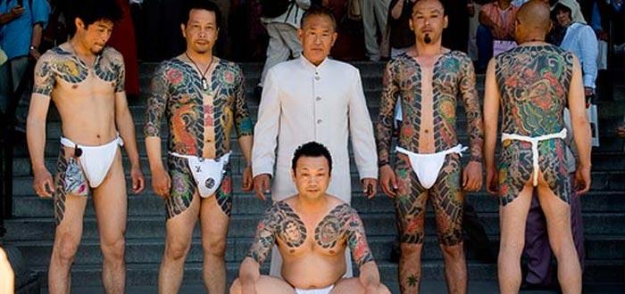 Yakuza mafia japonesa