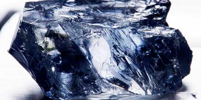 Diamante azul grande