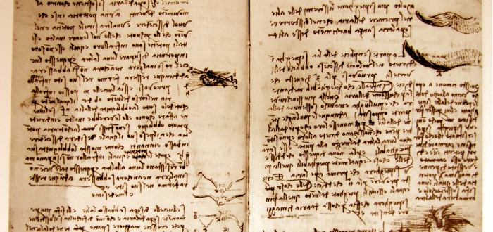 escritura especular de Leonardo Da Vinci