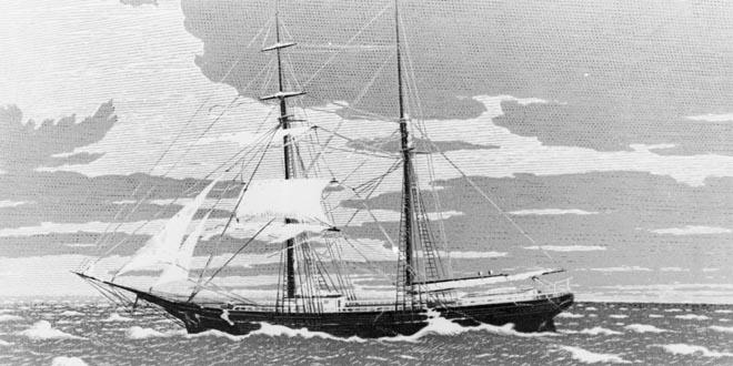 mary celeste, barco fantasma
