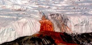 El misterio de las cataratas de sangre de la Antártida