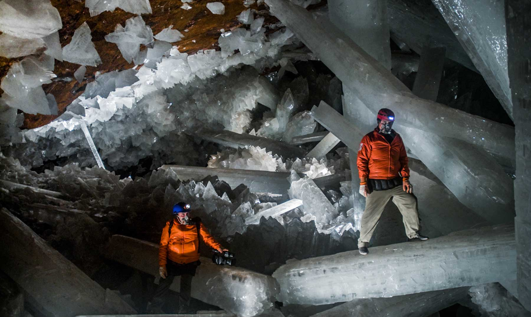 La cueva de cristales gigantes de México