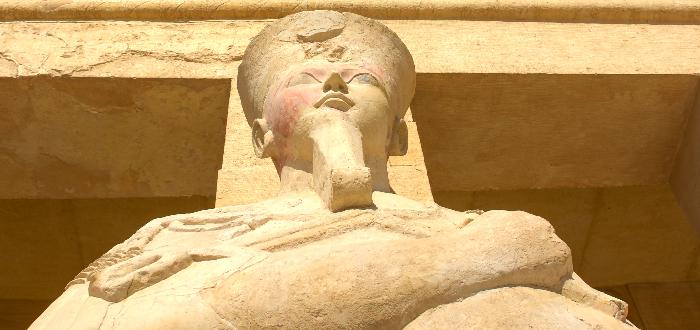 La reina Hatshepsut