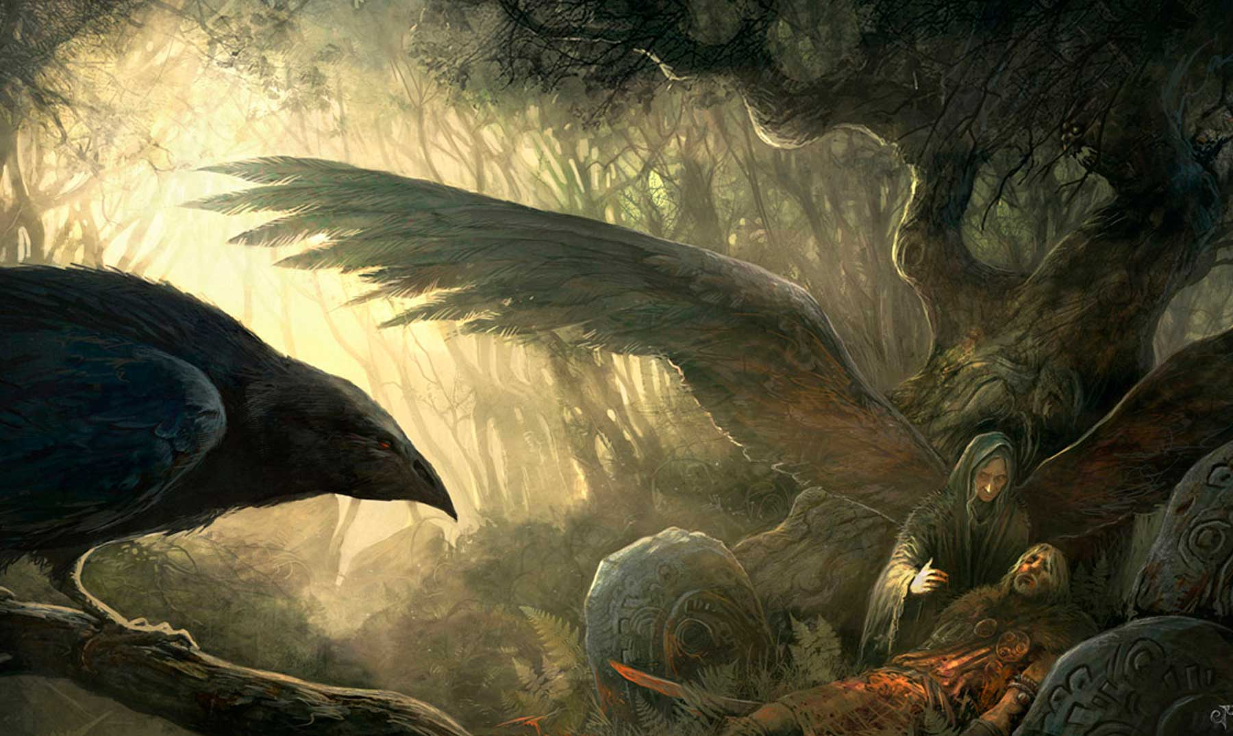 Mitología celta La diosa Morrigan