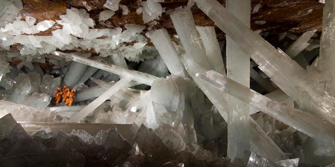cueva de cristales, naica, méxico
