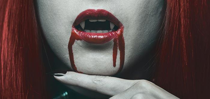 lamia, boca de vampira